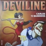 "7"" ✦ CARLOS AND THE BANDIDOS ✦ ""Deviline"" Fantastic Jiver Floorfiller. Hear♫"